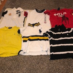 Preowned Polo Ralph boy's bundle tops sizes 3/3T
